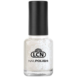 LCN Nail Polish 571 white flakes 8ml