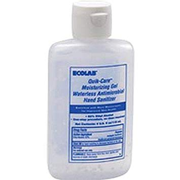 Ecolab Quick-Care Moisturizing Gel Waterless Hand Sanitizer 37ml