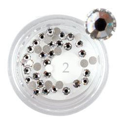 LCN Rhinestones, Crystal Large, 50pc