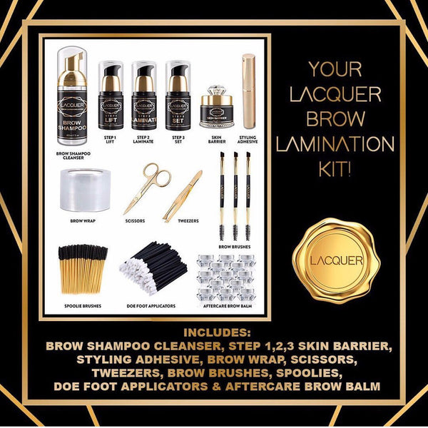MINX LACQUER Brow Lamination Kit