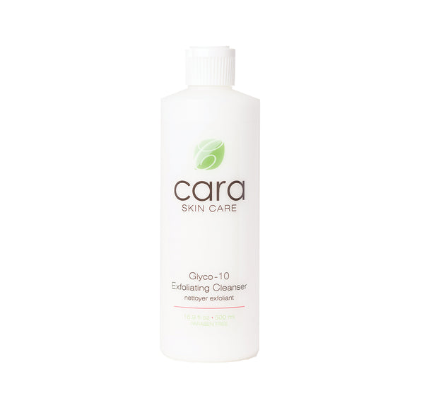 Cara Skin Care Glyco-10 Exfoliating Cleanser 500 ml/16.9 fl oz