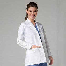 Lab Coat, White, Large