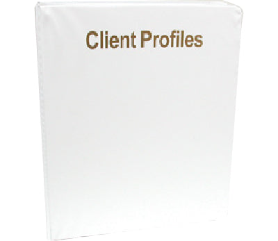 LCN Client Record Book with Client Profile/Service Sheets, 50pgs