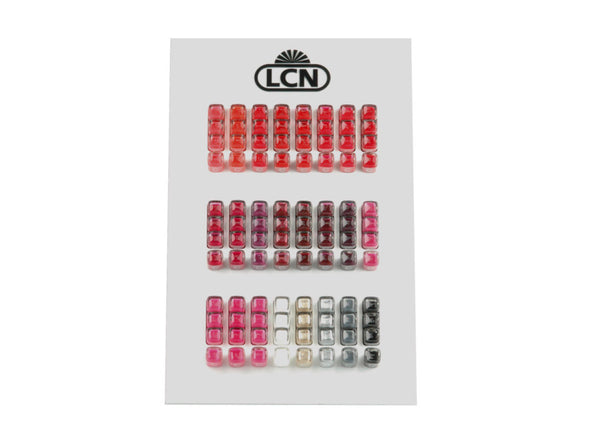 LCN Polish Counter Display, Gloss Black, 96 pcs, empty