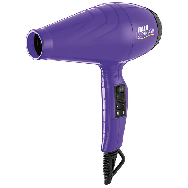 BabylissPro Italo Luminoso Dryer (Purple)
