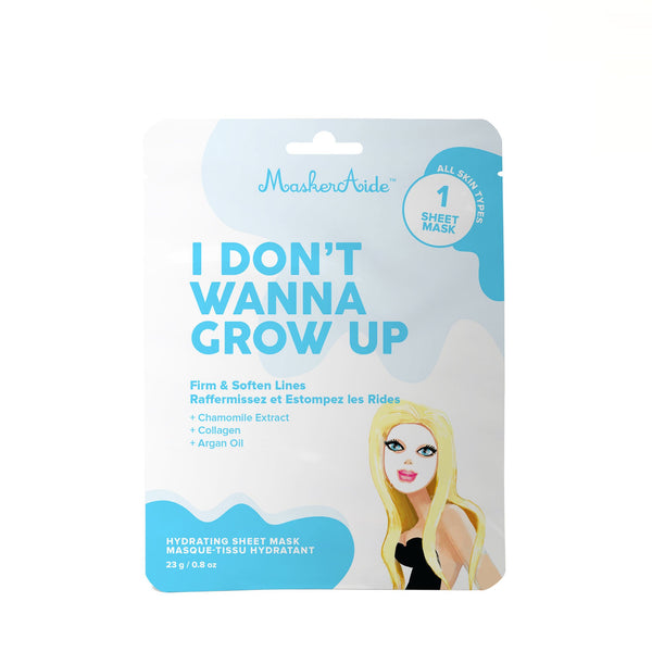MaskerAide I Don't Wanna Grow Up Hydrating Sheet Mask