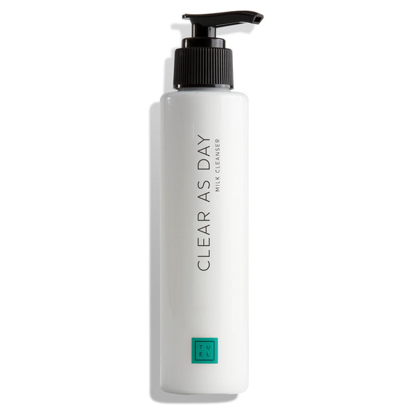 TUEL CLEAR AS DAY MILK CLEANSER