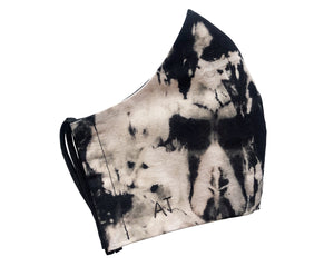 BLACK TIE DYE COLLECTION FACE MASK