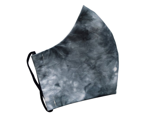 DARK GREY TIE DYE COLLECTION FACE MASK
