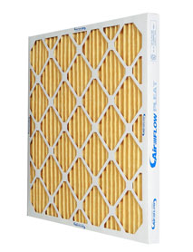 16x25x2 MERV 11 Pleated Air Filter