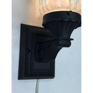 Porch Light with Square Midcentury Shade #2003 - Filament Vintage Lighting