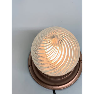 Swirl Teardrop ca 1900, Item #1918 - Filament Vintage Lighting