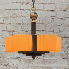 Load image into Gallery viewer, Markel Electric Streamline 5 light with Fluted Shades #1925