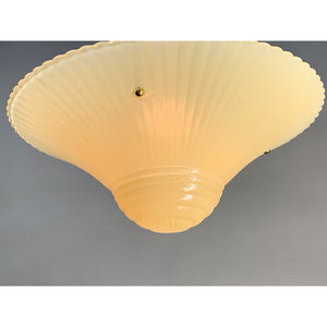 Cream Bead Chain Light #2012 - Filament Vintage Lighting