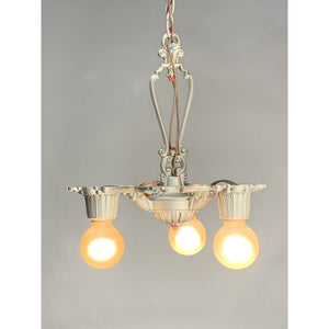 Small Bare Bulb Three Light #2014 - Filament Vintage Lighting