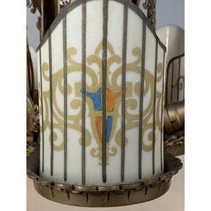 Beardslee Williamson Art Deco 5 Light #2023 - Filament Vintage Lighting