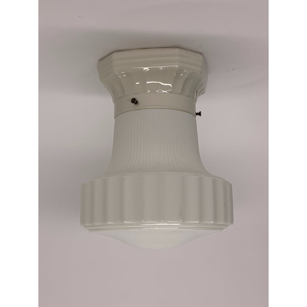 Kitchen Light with Porcelain Fitter #2025 - Filament Vintage Lighting