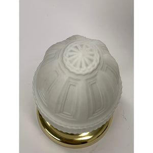 Classical Ceiling Light, Solid Brass Fixture #2028 - Filament Vintage Lighting