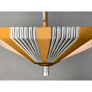 Streamline Art Deco Two Light for Hallways #2029 - Filament Vintage Lighting
