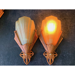 Slip Shade Wall Sconces by Virden #1869 - Filament Vintage Lighting