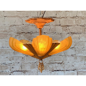 Short Ceiling 5 light by Virden