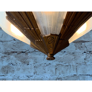 Short Ceiling 3 Light by Rayburn #1868
