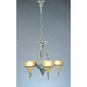"""MODERNIQUE"" chandelier by Gill Glass #2056"