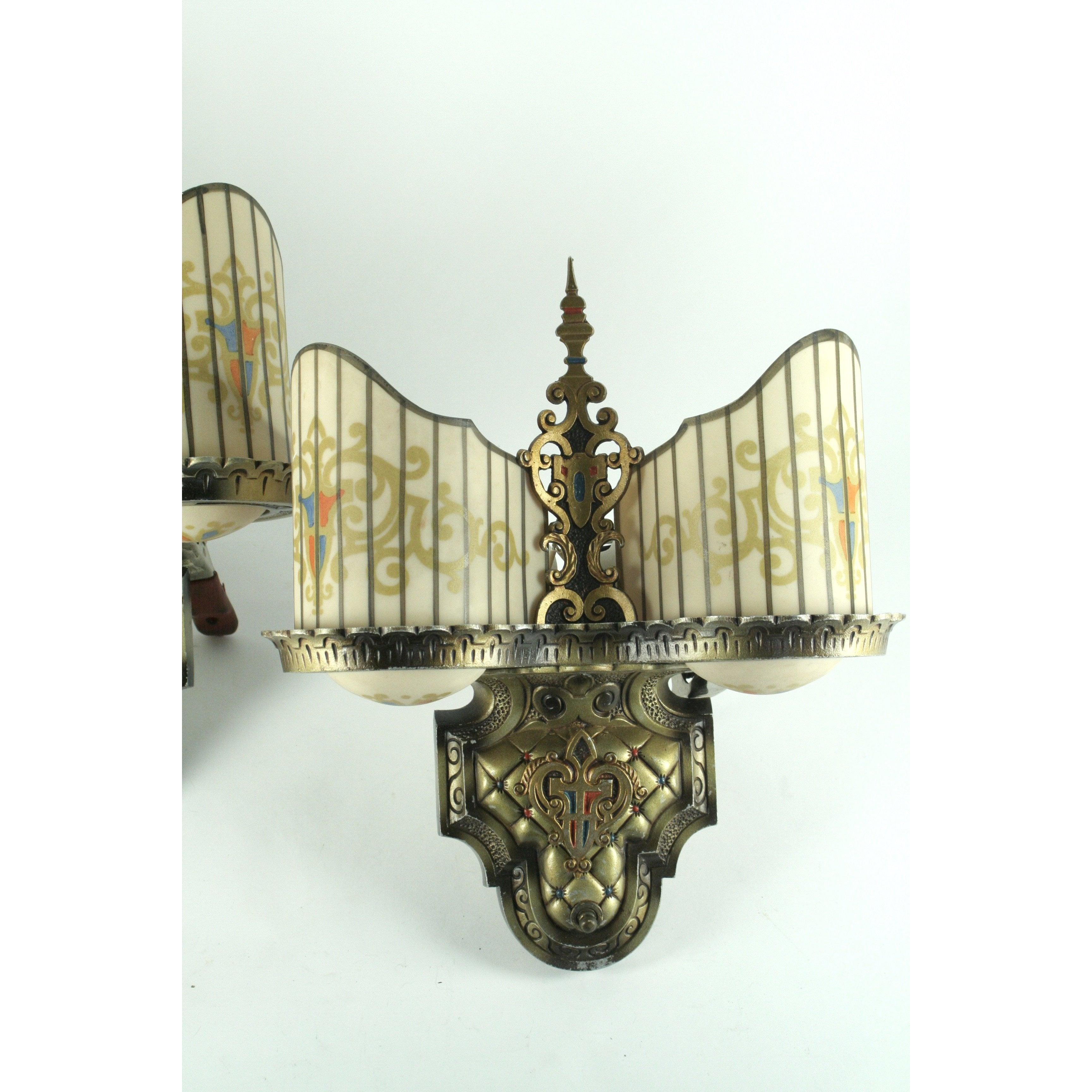Beardslee Williamson art deco wall sconces
