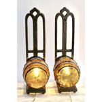Vintage Sconces Keg Tavern Bar Beer Wine Cellar