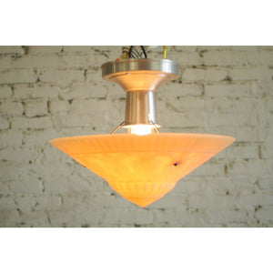 Vintage Art Deco Bowl Lights (Two Available) #1529 - Filament Vintage Lighting