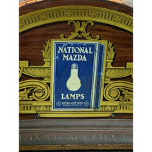 Load image into Gallery viewer, 1920s Antique Mazda Light Bulb Store Counter Display