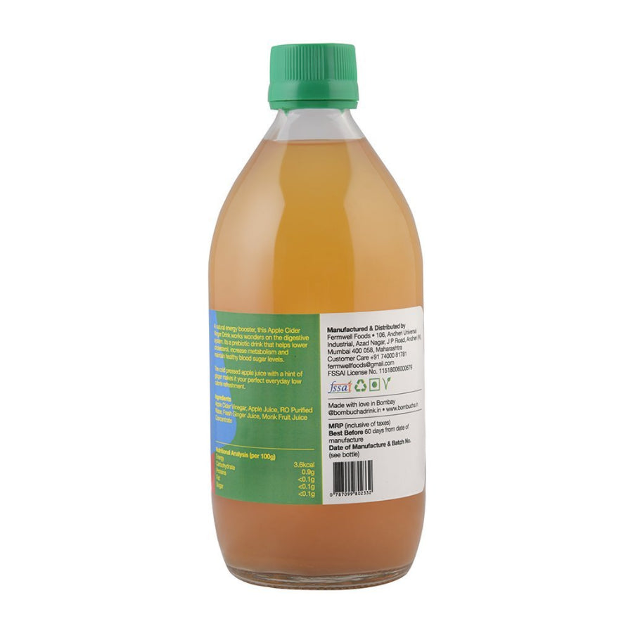 ACV Drink-Apple & Ginger 500ml