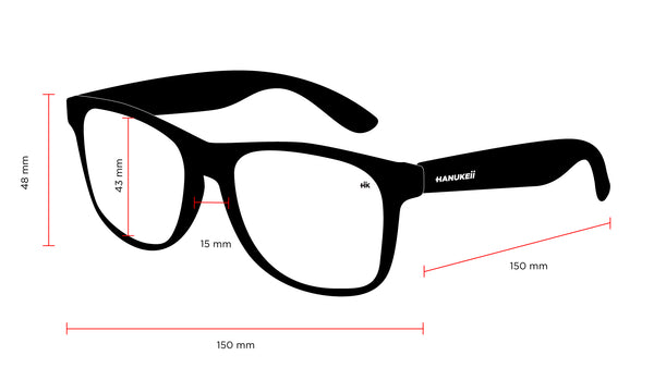 Measurements Kailani Polarized Sunglasses