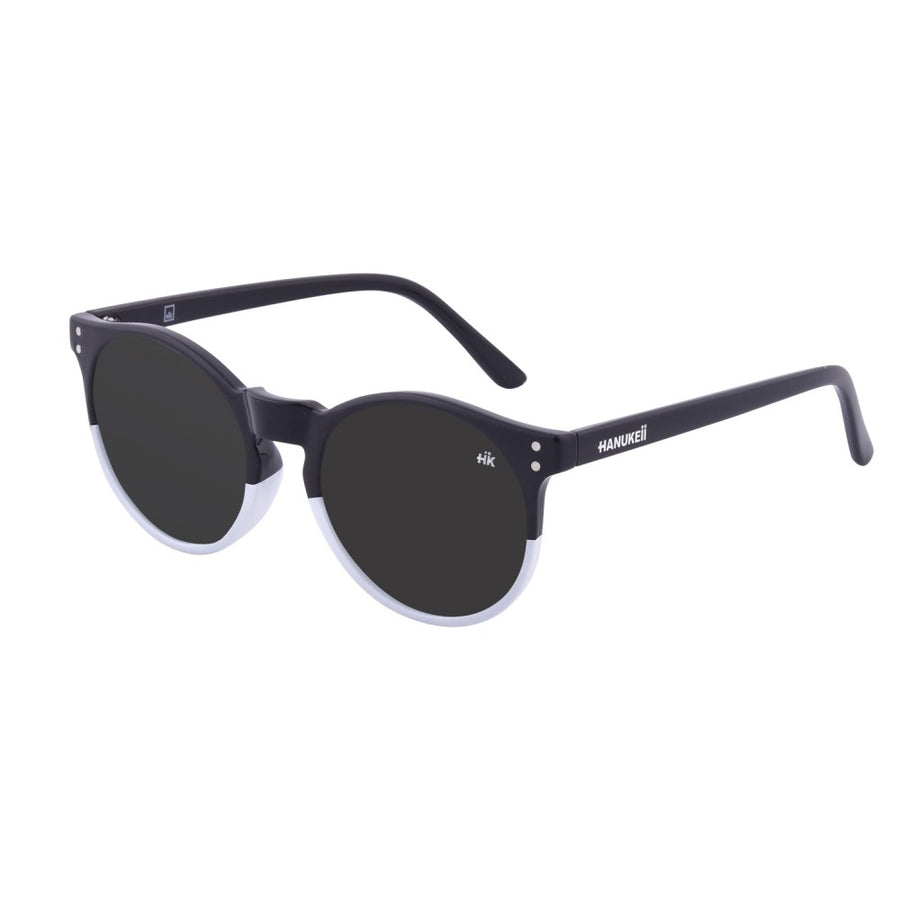 Wildkala Black and White Polarized Sunglasses HK-001-01