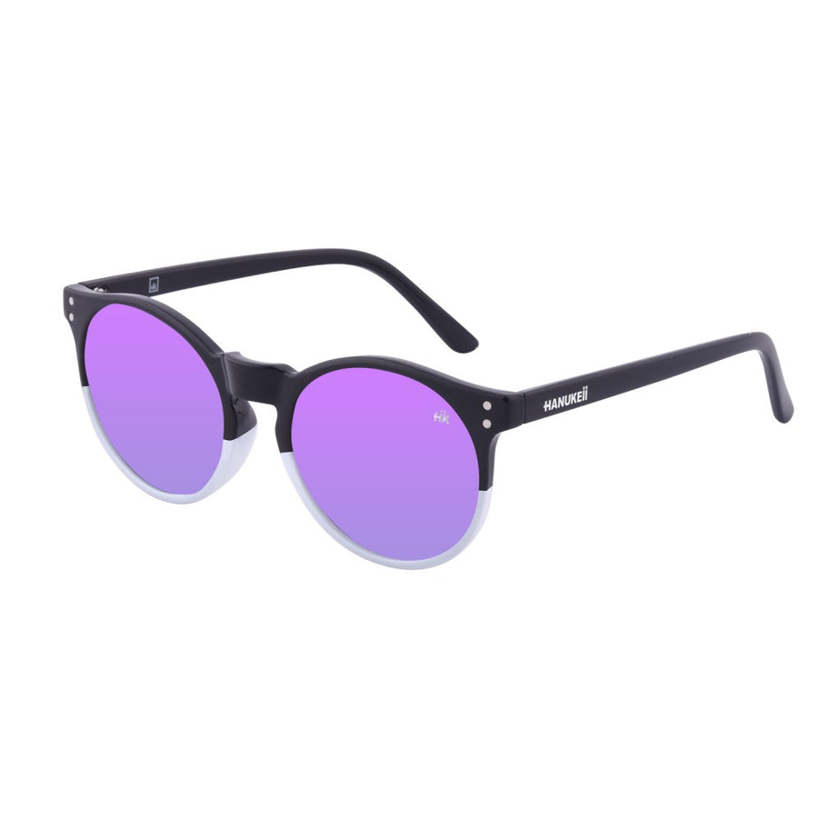 Wildkala Black and White Polarized Sunglasses HK-001-02