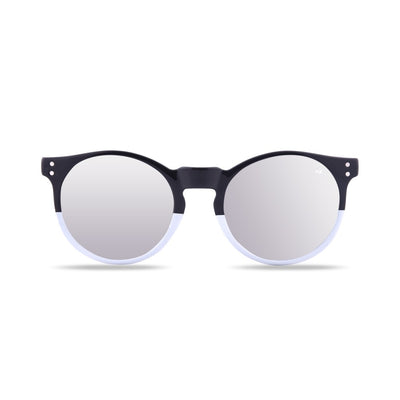 Wildkala Black and White Polarized Sunglasses HK-001-03