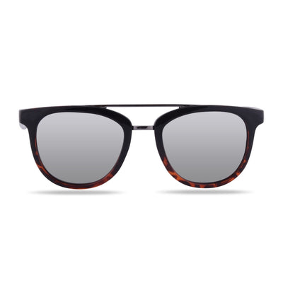 Nunkui Black ug Tortoise Polarized Sunglasses HK-002-01
