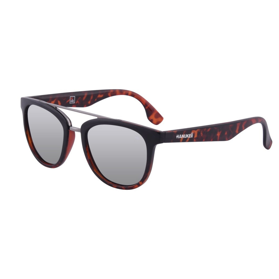 Nunkui Black and Tortoise Polarized Sunglasses HK-002-01