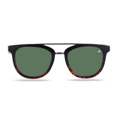 Nunkui Black ug Tortoise Polarized Sunglasses HK-002-02