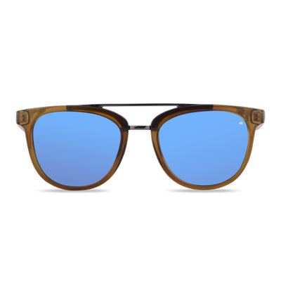 Ang Nunkui Green Bottle Polarized Sunglasses HK-002-03