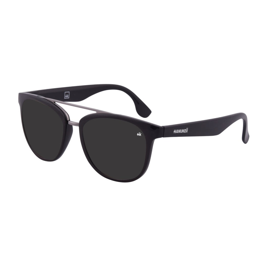 Nunkui Black Polarized Sunglasses HK-002-06