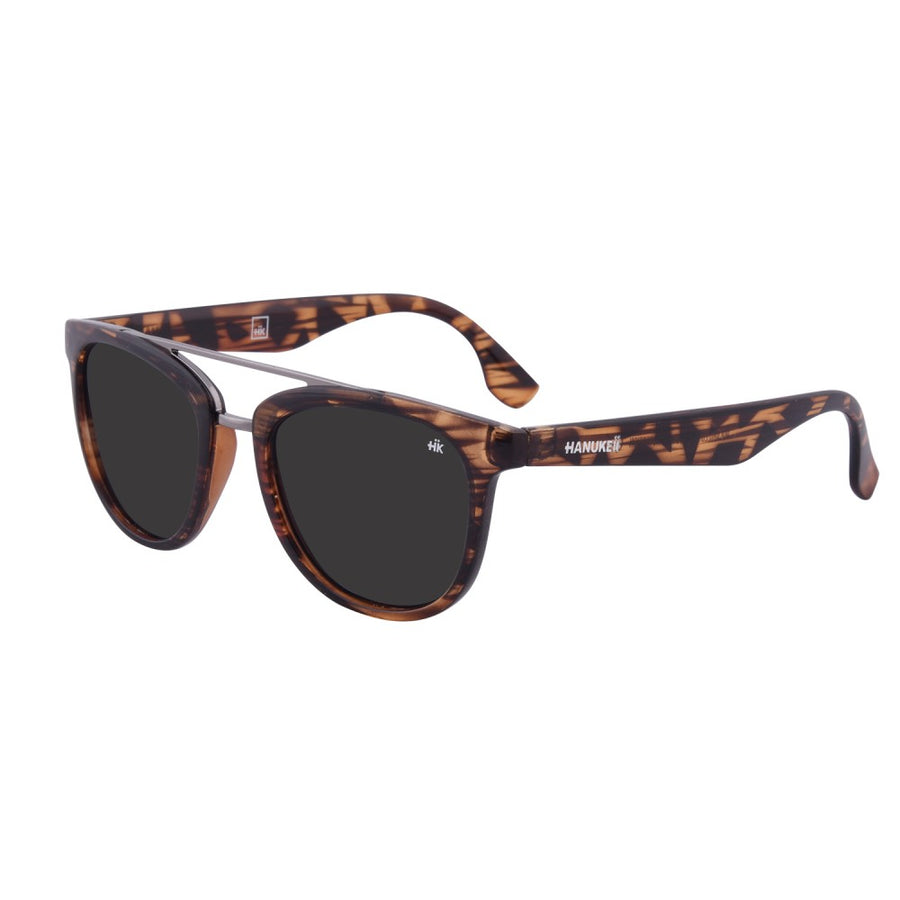 Ang Nunkui Vintage Wood Polarized Sunglasses HK-002-09