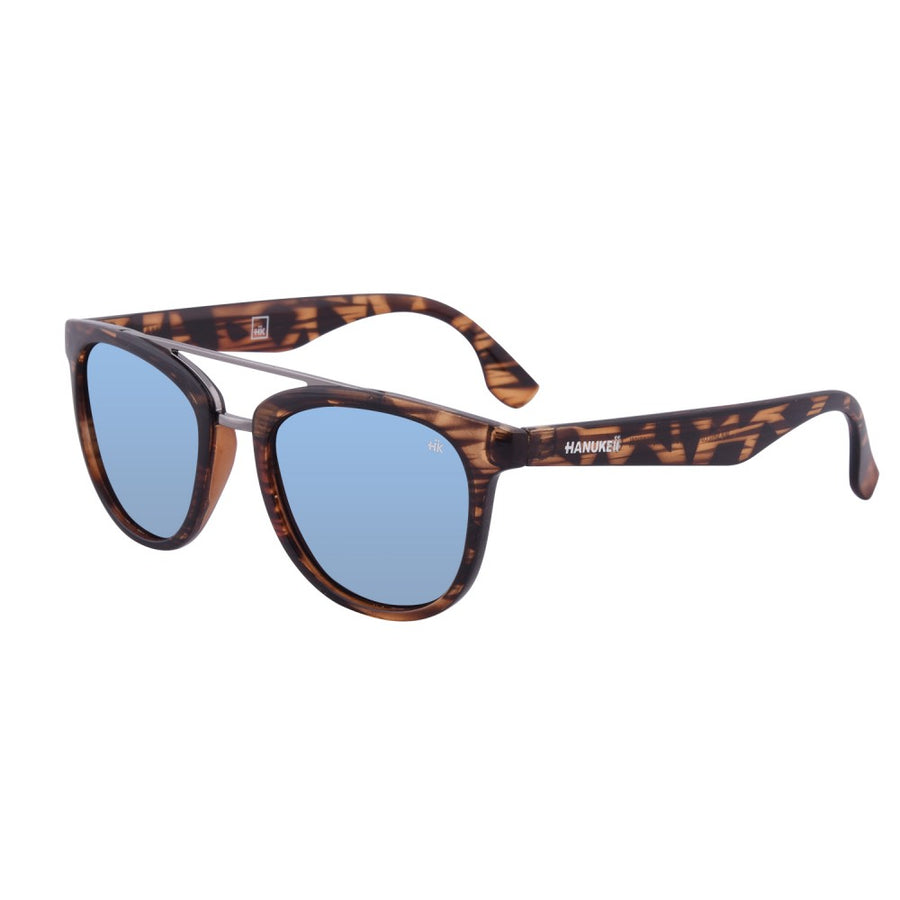 Nunkui Vintage Wood Polarized Sunglasses HK-002-10