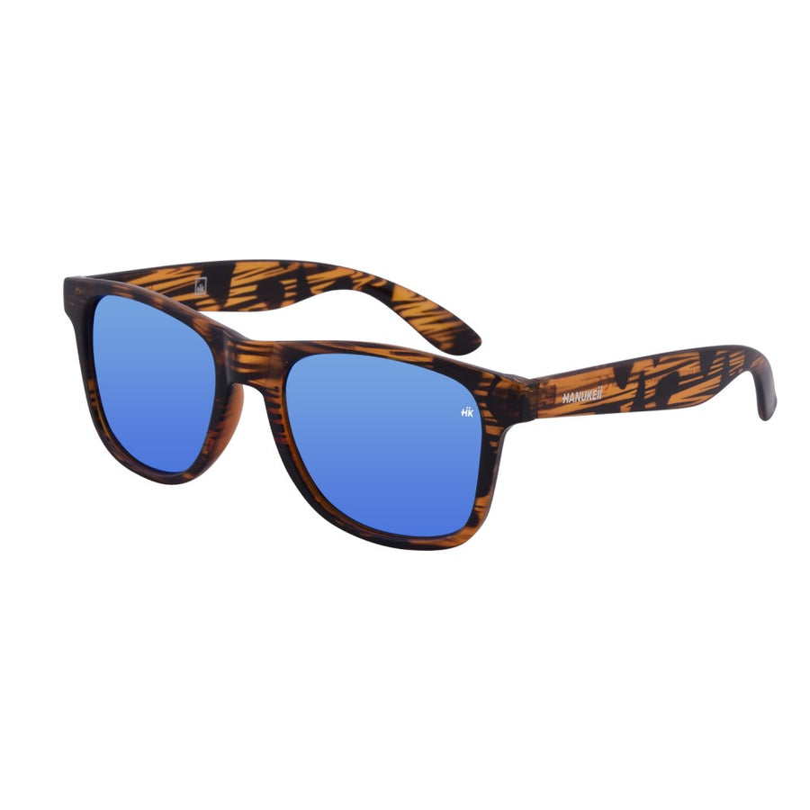 Kailani Vintage Wood Polarized Sunglasses HK-003-01