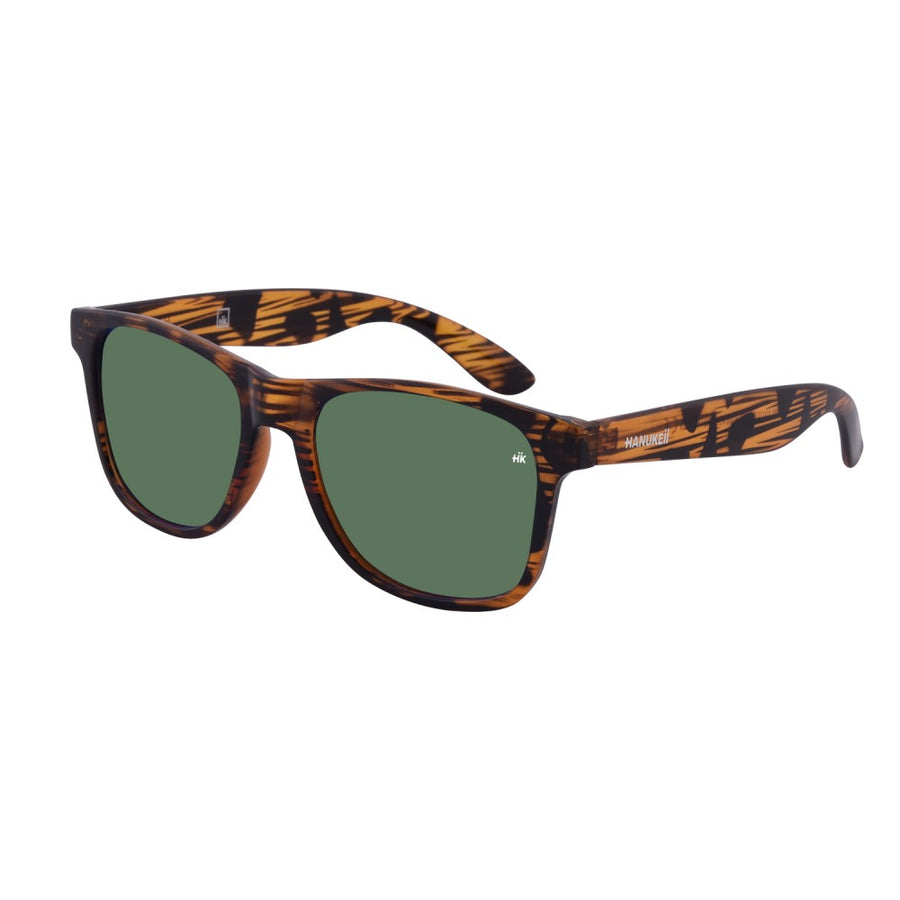 Kailani Vintage Wood Polarized Sunglasses HK-003-02