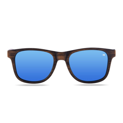 Kailani Brown Wood Polarized Sunglasses HK-003-06