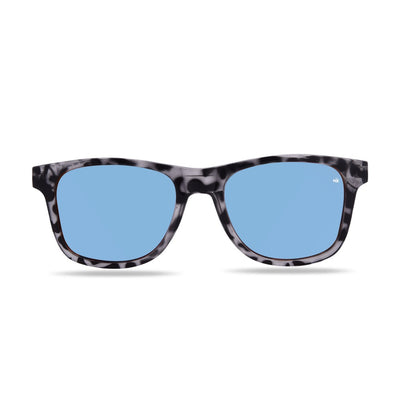 Kailani White Tortoise Polarized Sunglasses HK-003-15