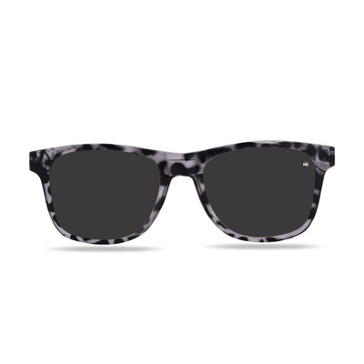 Kailani White Tortoise Polarized Sunglasses HK-003-16