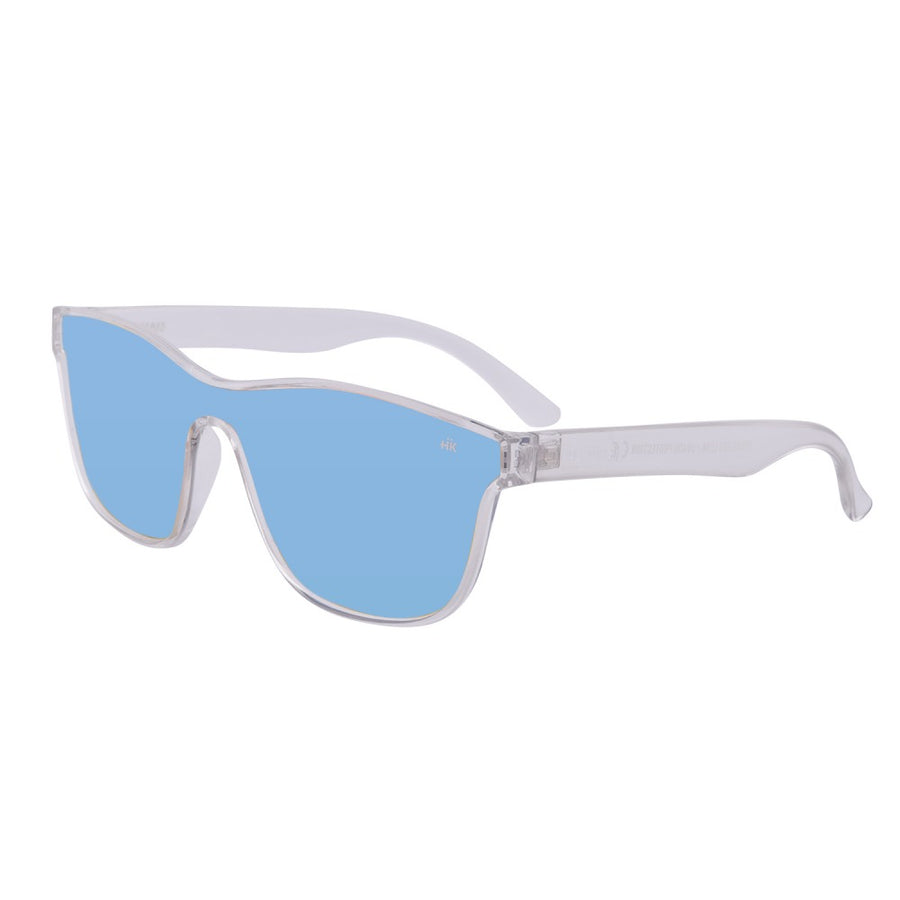 Mavericks Crystal Transparent Polarized Sunglasses HK-004-01