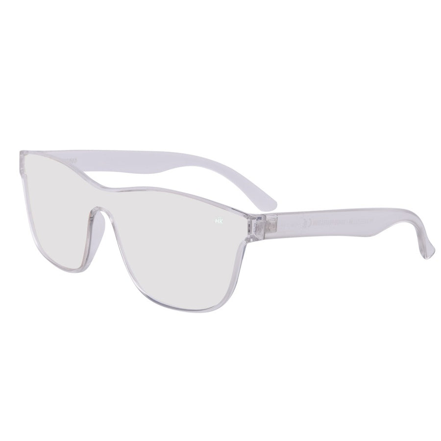 Mavericks Crystal Transparent Polarized Sunglasses HK-004-02